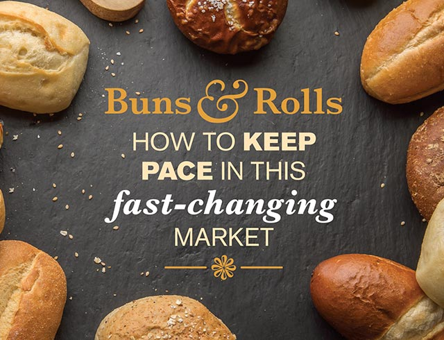 Buns and Rolls - how to keep pace in this fast-changing market
